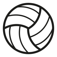 netball icons noun project Water Polo Ball Outline Swim Party Clip Art