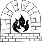 room stove Icon