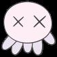 Dead Octopus Icon