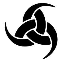 Triple Horn of Odin Symbol Icon